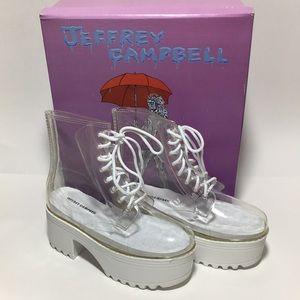 Jeffrey Campbell fog waterproof boot new in box